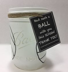 Volleyball Mason Jar Hand Painted by MonisMasonCreations on Etsy Volleyball Senior Gifts, Volleyball Signs, Volleyball Crafts, Volleyball Party, Senior Night Gifts, Volleyball Mom, Volleyball Quotes, Volleyball Players, Softball