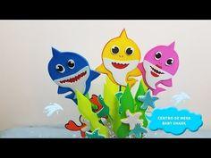 CENTRO DE MESA BABY SHARK🐟/ CENTERPIECE BABY SHARK 🐟 - YouTube