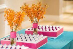 #pink,orange, wedding  Wilmington Wedding Planning and Design - Port City Event Planners