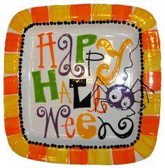 sept12bt - Halloween Pottery Plate