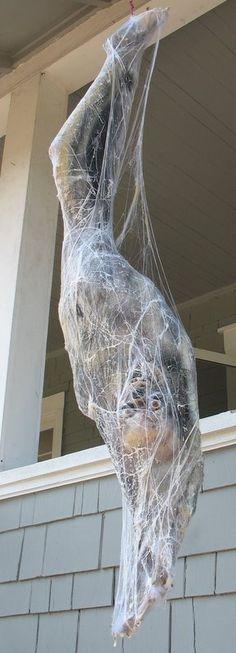 Pin by Donna Bennett on Halloween Pinterest Scary halloween - spider web halloween decoration