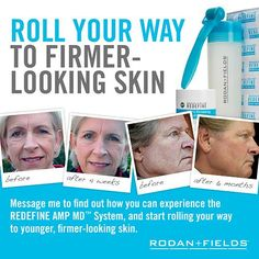 Following all the incredible results, the FDA has spent the last year reviewing the Rodan + Fields' AMP MD Roller (200 stainless steel acupuncture needle tips that you roll on your face and neck to best receive the retinol and peptides in our Night Renewing Serum). They wanted to figure out if they should change its classification to a medical device. The FDA recently announced they were right the first time, and this cosmetic tool is BACK. Contact me to get on board…