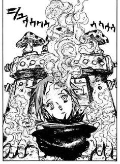 """Ebisu from the Japanese horror manga series, """"Dorohedoro""""."""