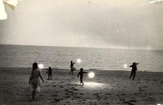 Robert Frank, Untitled (Children with Sparklers in Provincetown), ca. 1958