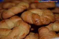 Μάχη στην κουζίνα: Κουλούρια Πασχαλινά Βουτύρου με Κρέμα Γάλακτος Bagel, Bread, Cookies, Food, Crack Crackers, Brot, Biscuits, Essen, Baking