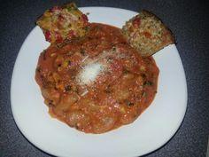 Gnocchi with bruschetta