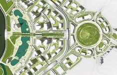 Landscape Master Plan of GIFT City, Gandhinagar, India #landarch #masterplan…