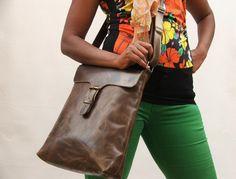 Satchel leather  bag Mens Women Unisex  Leather handbag laptop bag leather handbag on Etsy, $69.99