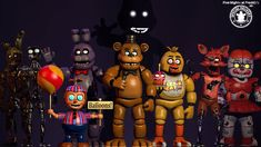 FNaF AR: Special Delivery character pack by on DeviantArt Scott Cawthon, Fnaf Wallpapers, Fnaf 1, Fnaf Characters, Freddy Fazbear, Special Delivery, Five Nights At Freddy's, Mickey Mouse, Christmas Crafts