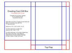 card box template - Google 検索