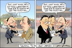Tony's China Plate, Leak, The Australian | Political Cartoons Australia