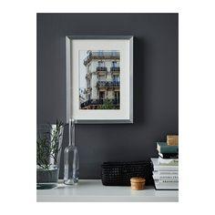 """RIBBA Frame - aluminum color - IKEA $6.99 (11 ¾x15 ¾ """")"""