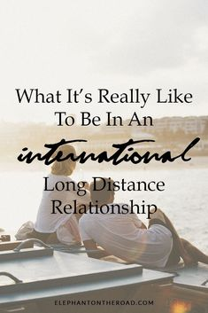 Are you in an international long distance relationship? Talk a look at this post to understand better what it's really like to be in an international long distance relationship. Relationship Struggles, Long Relationship, Toxic Relationships, Healthy Relationships, Distance Relationships, Long Distance Marriage, Relationship Meaning, Conversation Starters For Couples, International Dating