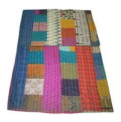 Indian Home Decor Kantha Quilt Kantha Quilt, Quilts, Picnic Blanket, Outdoor Blanket, Indian Home Decor, Sofa Covers, Ancient Art, Art Deco Fashion, Bed Spreads
