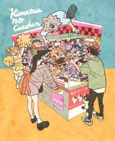 Manga Anime, Anime Demon, Character Art, Character Design, Eren X Mikasa, Dragon Slayer, Slayer Anime, Anime Art Girl, Cute Art