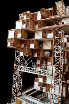 Discover recipes, home ideas, style inspiration and other ideas to try. Architecture Design Concept, Dynamic Architecture, Arch Architecture, Design Presentation, Architectural Presentation, Model Tree, Mix Use Building, Wooden Buildings, Arch Model