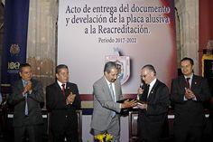 Recibió la institución nicolaita constancia de la Reacreditación de su programa académico para el periodo 2017-2022 – Morelia, Michoacán, 30 de abril de 2017.- Al recibir formalmente la constancia de ...