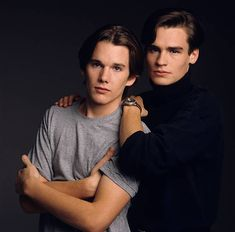 Ethan Hawke and Robert Sean Leonard