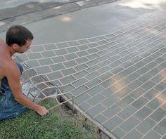 Improve Your Outcome when Using Concrete Stencils - Concrete Decor ...