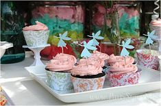 Very cute - you'd want to find the fairies pre-cut out to save yourself a lot of construction time!