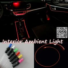 28.56$  Watch here - http://alioam.shopchina.info/go.php?t=32789835895 - For HONDA Ridgeline 2005-2016 Car Interior Ambient Light Panel illumination For Car Inside Cool Strip Light Optic Fiber Band 28.56$ #magazineonlinewebsite