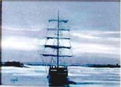 Titulo: Mar gris, óleo sobre cartón, 36 x 26, 300 €