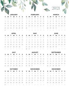 Bullet Journal Writing, Bullet Journal School, Bullet Journal Ideas Pages, Printable Calendar Template, Printable Planner, Free Printables, Print Calendar, 2021 Calendar, Calendar Journal