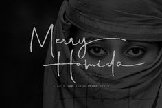 Merry Hamida by GRAPHICPRESS on @creativemarket #font #typography