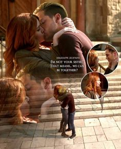 Clary et Jace Jace And Clary Kiss, Clary Fray, Shadowhunters Tv Series, Netflix, Dominic Sherwood, Cassandra Clare Books, Jace Wayland, Shadowhunters The Mortal Instruments, Clace