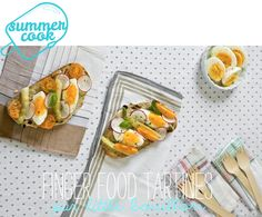 Summer cook : «finger food tartines» par Little Bouillon