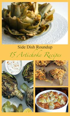 Artichoke Side Dish Recipes