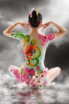 Mentaal Spa Lidice-Ba: Arte no corpo