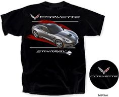 C7 Corvette Red Streak$17.00  C7 Corvette Red Streak Click to enlarge 100% Cotton T-shirt color - Black Available in sizes S - 3X