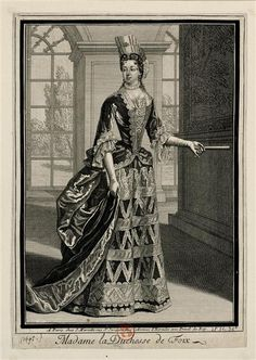 Duchesse de Foix - Description by Jean Mariette, éditeur album Louis-Philippe