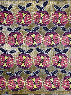 Real Dutch Super Wax Fabric by Vlisco...i think this is a very very old print.