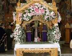 Greek Easter, Russian Orthodox, Holy Week, Flower Arrangements, Diy And Crafts, Religion, Mary 1, Friday, Google Search