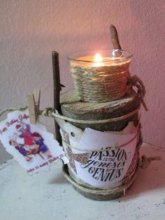 B-day candelstick :)