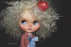Reduced !!! OOAK custom Blythe doll by Sharon Avital - 'Almo'