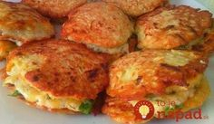 5 recipes diet vegetable pancakes: simple to prepare and very tasty! Great side dish to meat or as a main dish! Vegetable Pancakes, Vegetable Dishes, Ukrainian Recipes, Russian Recipes, Healthy Diet Recipes, Cooking Recipes, Simple Recipes, Pumpkin Fritters, Pumpkin Pancakes