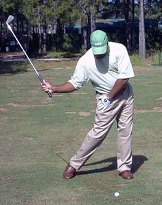 Use the Hitman Drill to Feel a Great Right Hip Turn in the Golf Swing