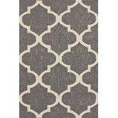 Found it at Wayfair - Marbella Moroccan Trellis I Grey Kilim Rug. Flat weave.  8x10.   426.00