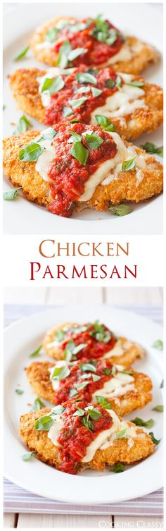 Chicken Parmesan - this is my FAVORITE chicken parmesan! It really doesn't get much better.