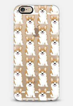 Cute corgi puppy cell phone case for welsh corgi owners love their funny shaped cute dogs meme for corgi dog gifts customizable iPhone 6s case by Pet Friendly | Casetify