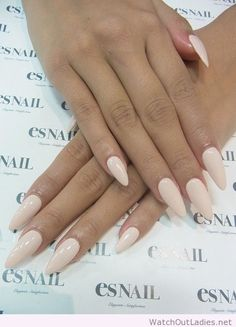 Kinda like the pointed nail trend
