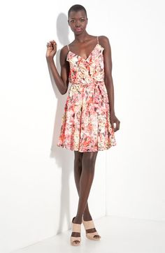 Just got this dress. Will be great for the summer wedding season! Great colors and so flattering.