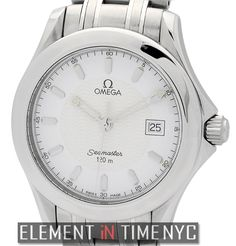 #Omega #Seamaster 120 M Quartz 36mm iN Stainless Steel With A Silver Dial (2511.31.00)