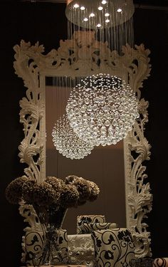 'Neat chandalier.' WOW~ Awesome for dining room...