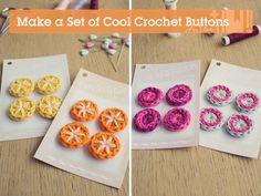 How to Crochet Buttons