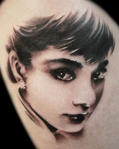 Audrey Hepburn Tattoo. Age Old Youngster