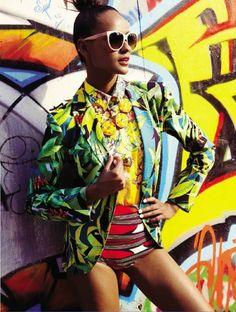 Cores!!! nice VOGUE BRASIL | Editorial Moda Janeiro 2013 | Gracie Carvalho por Phillipe Kliot